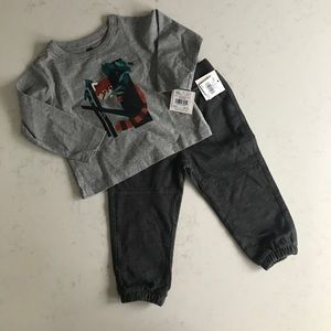 New with tags baby boy Tea outfit